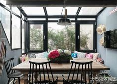 Encyclopedia of American decoration design balcony picture 2016