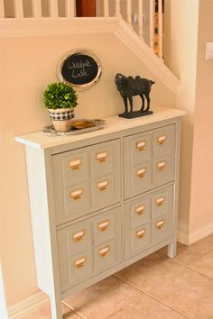 Happy Friday, friends!!   Ok, so I didn't think you all would read this if I titled it   IKEA Hemnes Shoe Cabinet,   BUT every time I'm...