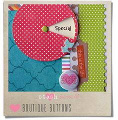 A Scrapbook Junkie: Welcome to the Party!