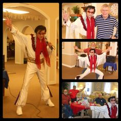 Elvis is in the HOUSE at Pacific Pointe