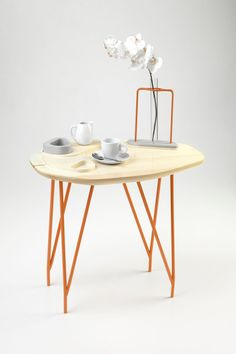 Versatile Tray Table by NVDRS Design Studio