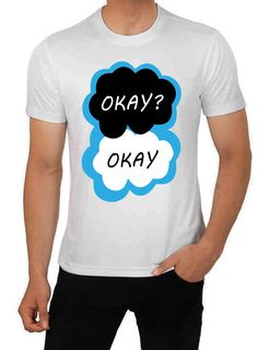 The Fault in our Stars TShirt Men Size Small  by CandyClubClothing, £9.99