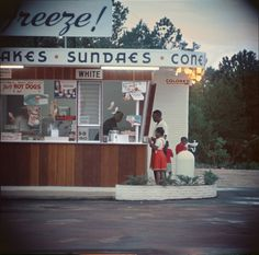 Shotguns and sundaes: Gordon Parks's rare photographs of everyday life in the segregated South   Art and design   The Guardian