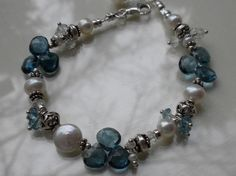 Wash away your blues with London Blue Topaz by TwoObsessed on Etsy, $159.00