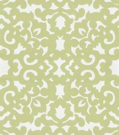 Home Decor 8''x 8'' Fabric Swatch-Upholstery-Waverly Garden Gate/Pistachio