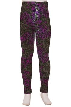 Description How awesome do these leggings look ! Such a classic design in a stunning Grape color with what looks like highlights als over. Care instructions: Machine wash cold in a laundry sack and hang to dry. Size Choose your Size polyester & spandex. Grape Color, Product Description, Leggings, Pants, Design, Fashion, Trouser Pants, Moda, Fashion Styles
