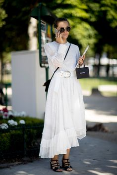 all white for summer