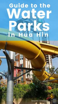 Two fun-filled water parks are found in Hua Hin, Thailand: Black Mountain and Vana Nava. Read my honest opinions about both. Caution: readers in rows 2 through 7 will get wet. #thailand #huahin #waterpark #vananava #blackmountain