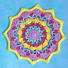 Spring motif doily - Miss Neriss
