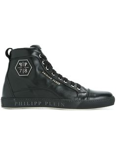 c230753a4f0 PHILIPP PLEIN 'Lost' hi-top sneakers. #philippplein #shoes #sneakers