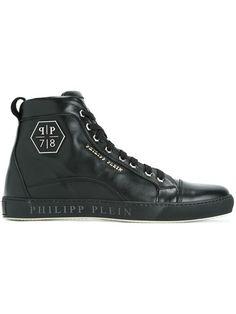 PHILIPP PLEIN 'Lost' hi-top sneakers. #philippplein #shoes #sneakers