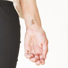 Honey Bee temporary tattoo from #Tattly