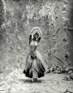 Paper Dancer. Photograph by Cecil Beaton.