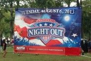 Photos and video: National Night Out, Elizabeth, 2013