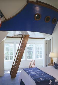 Awesome kids room , captain !