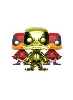 Deadpool duck - chrome pop