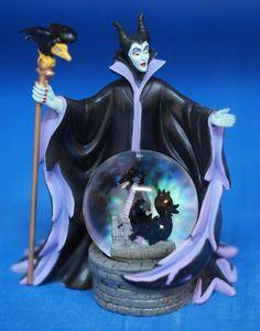 Disney Maleficent Dragon Snowglobe Figurine Sleeping Beauty 24201 #WestlandGiftware