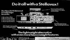 Stellavox SU8 ad in the Reel2ReelTexas.com vintage recording collection
