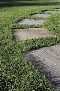 How to Make Concrete Pavers With Leaves thumbnail