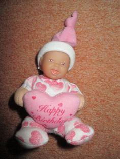 zapf Happy Birthday Mini Puppe Glitzerpuppe kleine Geburtst Herzpuppe Minipuppe