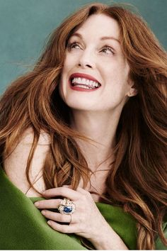 Julianne Moore photographed by Victor Demarchelier for Town & Country