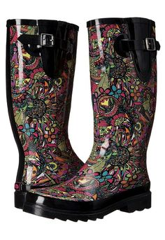 online shopping for Sakroots Rhythm from top store. See new offer for Sakroots Rhythm Short Heel Boots, Wide Calf Boots, Heeled Boots, Shoe Boots, Floral Boots, Wellington Boot, Pull On Boots, Kinds Of Shoes, Slip On Shoes