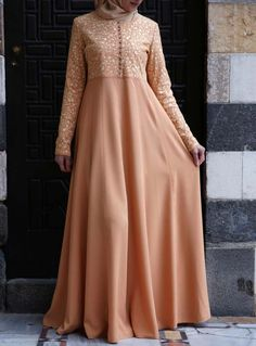 SHUKR USA   Arusa Embroidered Gown