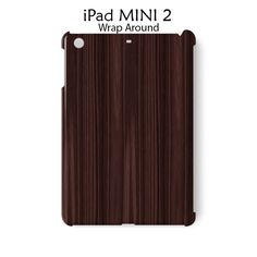 Brown Wood Bamboo iPad Mini 2 Case Cover Wrap Around