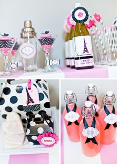 This would be super cute for a bachelorette party....decorate the hotel room :) love it!