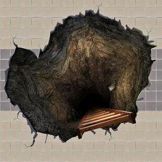 Hole Floor Decal