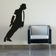 Large Michael Jackson Wall Stickers / Wall by WallStickersExtra, £19.99