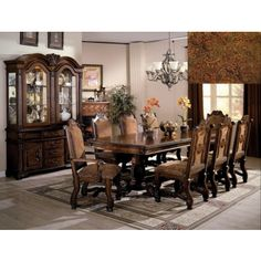 Dining room sets Room set and Cindy crawford on Pinterest