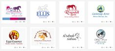 Custom horse logo design by Joni Solis @ Horse-Logos.com These #logodesigns were posted on Dribble.com #horselogos #equinelogos #logos Horse Rescue, Horse Logo, Healing Hands, New Beginnings, Custom Logos, Logo Design, Horses, Horse