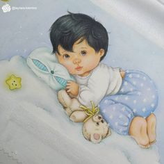 Baby Sketch, Decoupage, Cinderella, Disney Characters, Fictional Characters, Snow White, Baby Boy, Scrapbook, Barbie
