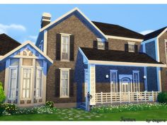 The Sims Resource: Turner house by Degera • Sims 4 Downloads