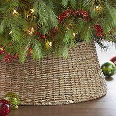 Abaca hand woven tree collar