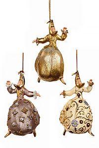 Ёлочное украшение ЛЕДИ ЛУНА, полистоун, 13 см, в ассортименте, Goodwill
