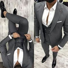 The Upside to Ideas Fitness Fashion Menswear The Hidden Facts on Ideas Fitness Fashion Menswear Ensure you to try your suit and continue around a bit to make sure the fit is ideal. Mens Fashion Blazer, Stylish Mens Fashion, Suit Fashion, Stylish Menswear, Fashion Menswear, Fashion Rings, Designer Suits For Men, Designer Clothes For Men, Classy Men