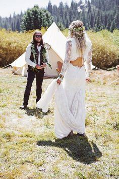 Bohemian Wedding Ideas - Boho Bride Looks                                                                                                                                                                                 More