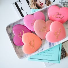 The Beauty Vanity | Too Faced Love Flush Blush Swatches Review