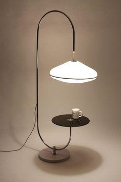 Resultado de imagem para brown lamp design minimal