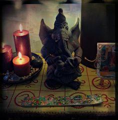 sacred communion #altar #ganesha