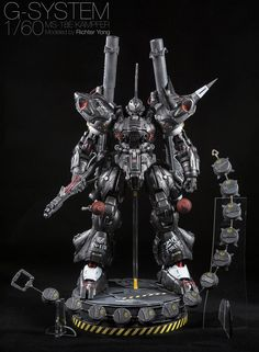 G-System 1/60 Kampfer by Richter Yong. Spettacolare