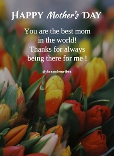 You are the best mom in the world! Cute Mothers Day Quotes, Mothers Day Captions, Happy Mothers Day Wishes, Mothers Day Poems, Funny Mothers Day, Mother Quotes, Daughter Quotes, Morhers Day Quotes, Heart Quotes