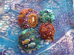 Inspiration: Megan Noel's beaded button
