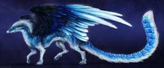 Feathers of Blue by Isvoc