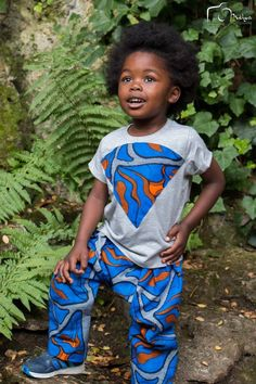 Ensemble Tee shirt et pantalon par emotionsbyjoy - Vêtements Enfants - Afrikrea
