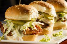 Morrocan Spiced Mochiko Fried Chicken Sliders - Chef Jennie Trinh