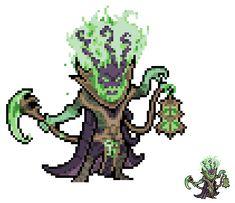 Thresh - League of Legends [Sprite Revamp] by Eviscus