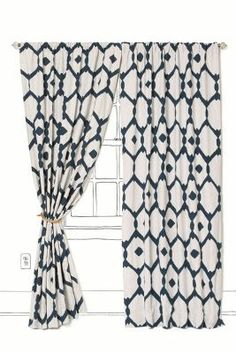 Mod Honeycomb Curtain